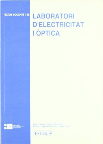 Laboratori D'Electricitat I Opti por Dept. Física Aplicada i Òptica
