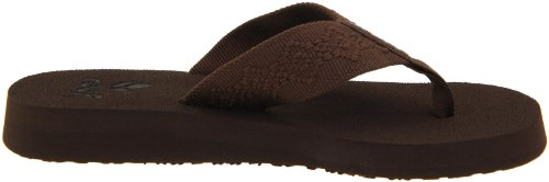Reef Sandy, Tongs femme Marron/brun - V.1
