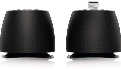 Philips DS6200/10 2.0 Docking-Lautsprecher für Apple iPod/iPhone schwarz Stereo Ipod Docking Station
