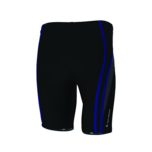 Aqua Sphere Berkley Herren-Badehose mit Beinen, Herren, Berkley, Black/Royal Blue