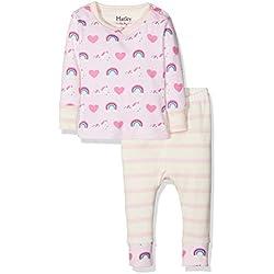 Hatley Baby Girls Organic Cotton Baby Pyjama Sets Pyjama Sets, Pink (Unicorns/Rainbow ), 12-18 Months
