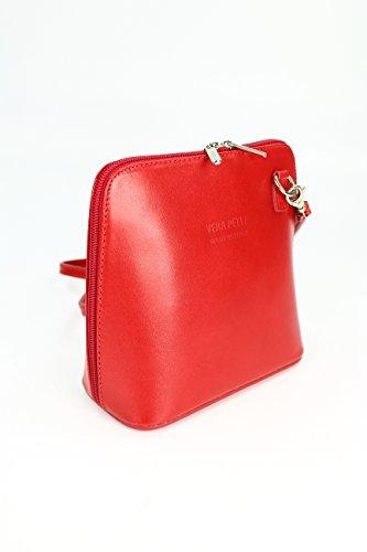 Vera Pelle , sacs bandoulière femme Rouge - Rouge