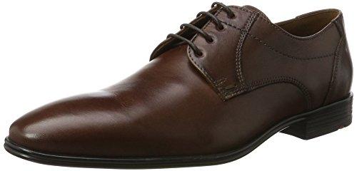 LLOYD Herren Osmond Derbys, Braun (T.D.Moro), 44.5 (Herren Online Schuhe)