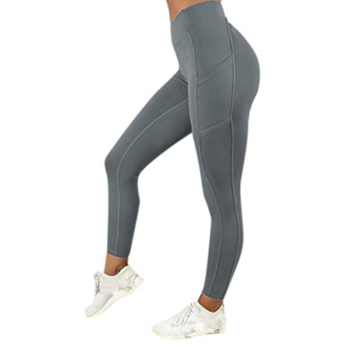 SHOBDW Pantalones Mujer Sólido Push Up Leggings Medias