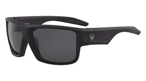 Dragon Sonnenbrille Matte Black H2O Polarisiert Fest Rauch DEADLOCK 38642-002 - H2o Für Dragon Sonnenbrille Männer