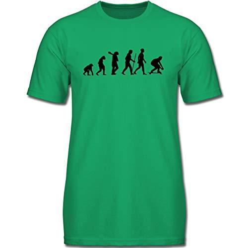 Evolution Kind - Longboard Evolution - 164 (14/15 Jahre) - Grün - F130K - Kinder Tshirts und T-Shirt für Jungen