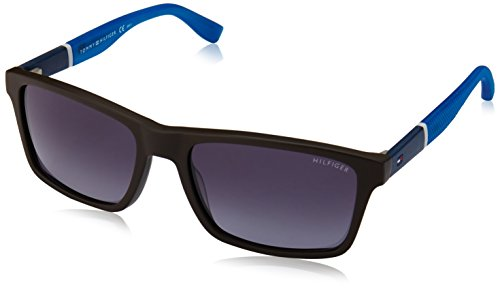 Tommy Hilfiger Herren TH 1405/S HD T9T 56 Sonnenbrille, Blau (Brown Blu/Grey),