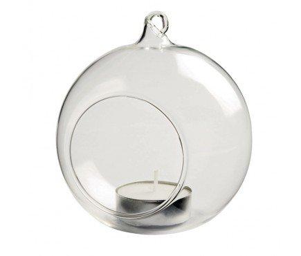 36x bolas de cristal para colgar portavelas