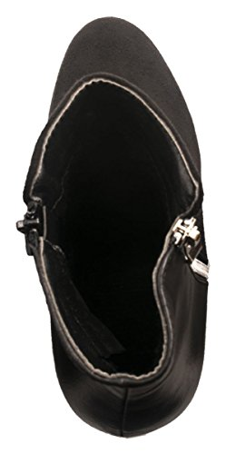 Elara - Scarpe con plateau Donna Nero