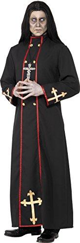 Robe Halloween Kostüm Ideen (Smiffys, Herren Minister des Todes Kostüm, Robe, Größe: M,)