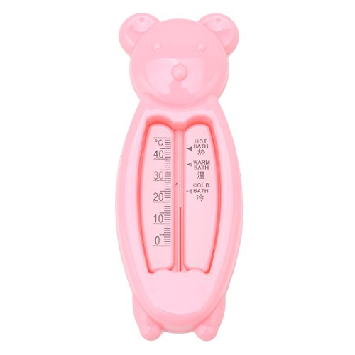 VWH bath ethermometer for safe bathing, measuring fluid for baby (rosa)