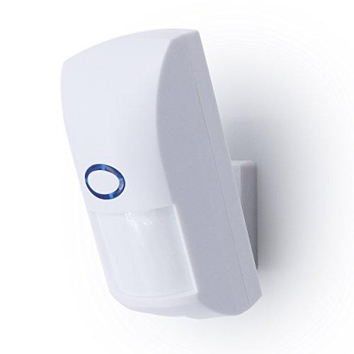 HIKam PIR Sensor (2.Generation): Für Außenbereich und Innnenbereich Externe PIR Sensor (Passiv Infrarot Sensor) mit 433MHz Funkverbindung