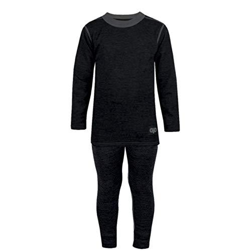 Galeja TuTu Baby Jungen Unterwäsche Set lang Winter Merinowolle Premium Qualität Blau 86-92