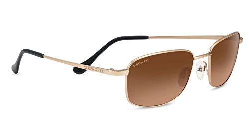 Serengeti Eyewear Sonnenbrille Palinuro, Satin Soft Gold/Drivers Gradient, 8385