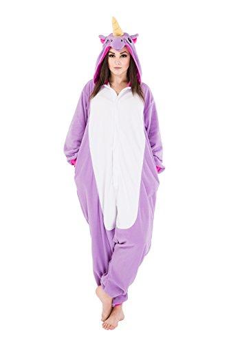 Pyjamas Erwachsene Kigurumi Einhorn Schlafanzug Kostüm Anime Unisex Kostüme Jumpsuit Karneval Cosplay (Eule Herren Kostüme)