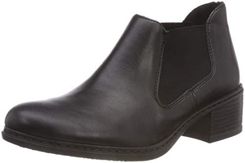 Rieker Damen 57690 Chelsea Boots, Schwarz 00, 40 EU