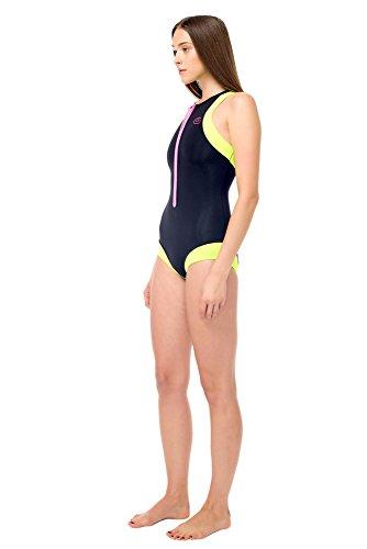 Glidesoul da donna Costume da bagno Black Lemon Pink