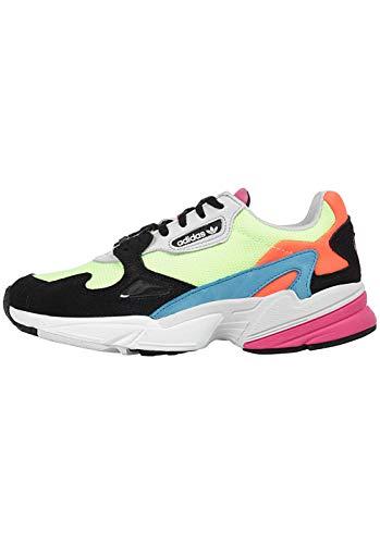 adidas Damen Falcon W Kletterschuhe, Mehrfarbig Amalre/Negbás 000, 36 EU (Damen Bunt Schuhe Adidas)