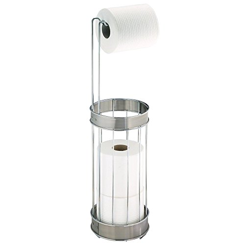 36210eu bruschia toilettenpapierhalter chrom edelstahl gebrstet - Freistehender Toilettenpapierhalter Chrom