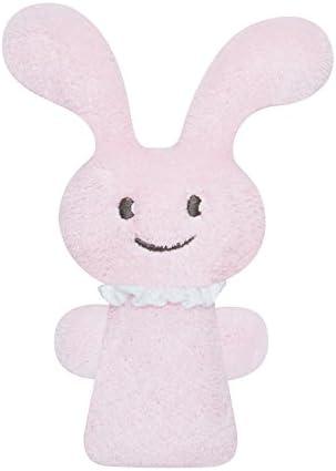 Trousselier - Jouet Premier Age - Funny Bunny Hochet Rose Pouet Pouet 12 cm - Rose Hochet 6975bc