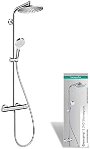 hansgrohe Crometta S 240 Duschsystem, Silver
