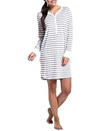 MU CHAO Vestido de Lactancia con Rayas de Las Mujeres Ropa para amamantar Jersey de Mujeres Embarazadas Camiseta de enfermería Tops de enfermería