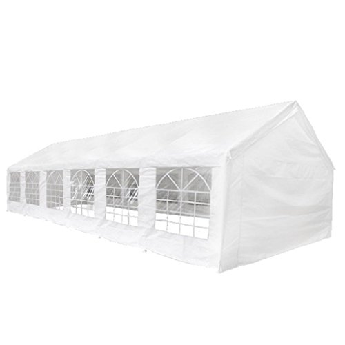 Festnight Carpa 12 X 6 M Pabellón Blanco de Eventos