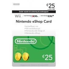 Nintendo eShop Card 25,00 Nintendo eShop Card 25,
