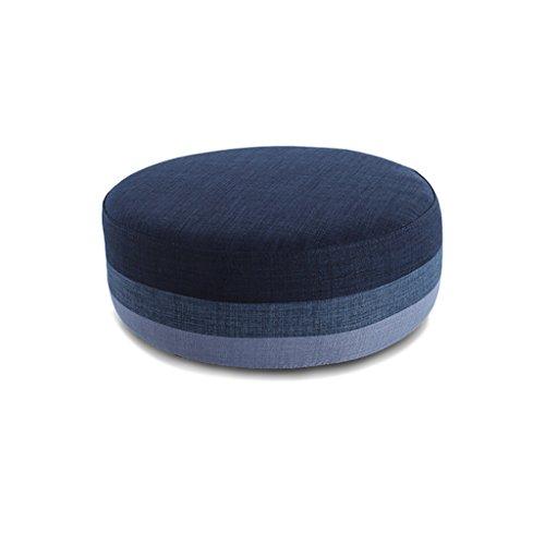 XIAOLVSHANGHANG HHCS Modernes minimalistisches Stoff-waschbares Sofa-Feste Holz beschuht den Schemel, der kreativen kleinen sitzenden Pier Futon Schemel kleidet Hocker & Stühle (Farbe : E) (Futon Sofa Und Stühlen)
