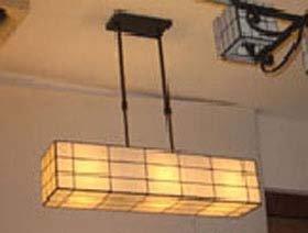 LAMPARA TECHO TIFFANY FORJA BLANCA.: Amazon.es: Iluminación