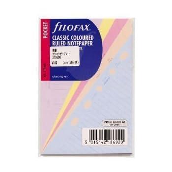 Filofax Refills Undated All Sizes Variations For Filofax