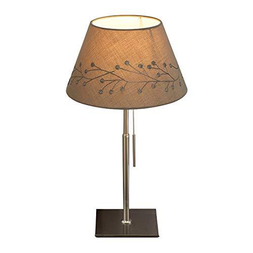 ve Tischlampe für Zuhause Nordische Lampe, kreative einfache Moderne Schreibtischlampe des Schlafzimmerbetts, Amerika-Hochzeitshochzeitsraum Europa-Nachttischlampe, Lampen ()
