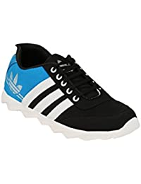 Big Fox Superstar Men's Running Shoes Black Blue, Casual and Stylish.