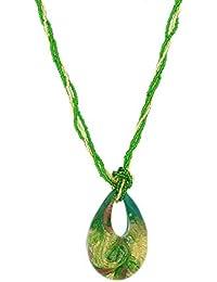 Venetiaurum - Collier pour femme en véritable verre de Murano et argent 925 - Bijou certifié Made in Italy
