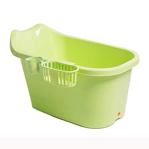 MYS-Bathtubs C-K-P Badewanne Kinderbadewanne Für Kinder Mini-Badewanne Für Erwachsene Verdicken Warmes Kind Badeeimer (Farbe : Green)