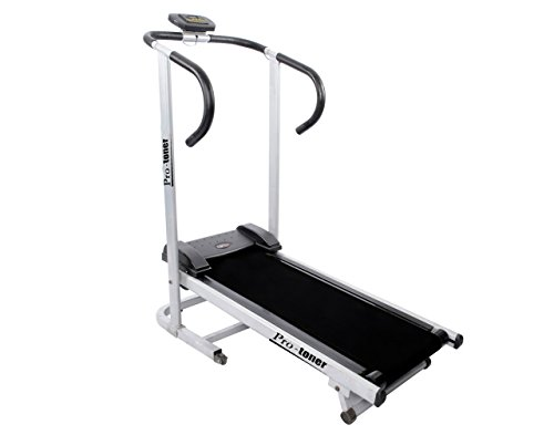 Protoner manual Treadmill Foldable Jogger with digital display