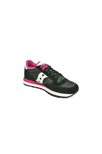 Saucony Jazz o W, Scarpe da Running Donna Multicolore (Black/Pink)