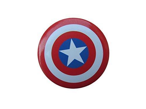 1x-Red-Captain-America-shield-Marvel-superhero-badge-4cm-diameter-gift-idea-by-Fat-catz-copy-catz