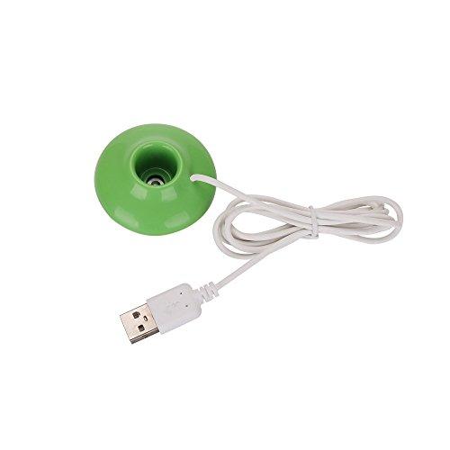Mini Humidificador SUNNSEAN USB Creativo Colorido Mini Lámpara Mango Humidificador Medidor de Agua de Carga Humidificador al Vapor Ajuste para la Oficina del hogar del Coche 400ML