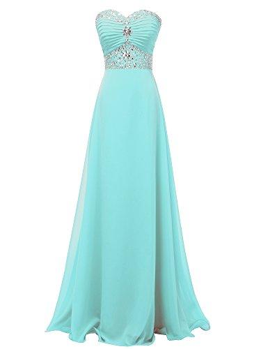 Solovedress -  Vestito - Linea ad a - Donna Tiffany Blue 42