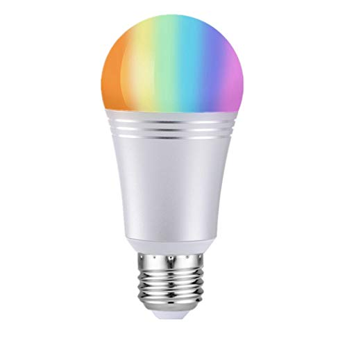 Smart LED Lampe, Onlyct 7W E27 Dimmbare RGB Birne 650LM Wifi Glühbirne Fernbedienung via APP, Kompatibel mit Amazon Alexa, Google Home von IOS & Android 6000K