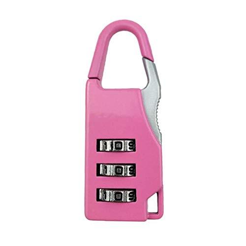 BAWANG 1 STÜCKE Zifferblatt Kombination Code Number Lock Vorhängeschloss Für Gepäck Reißverschlusstasche Rucksack Handtasche Koffer Schublade (Bolt Lock Code)