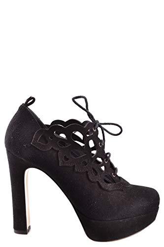 Chaussures Set Twin Mcbi29854 À Noir Femme Cuir Talons Y7gf6yIbv