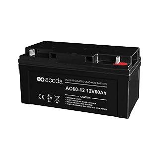 12V 60AH GELAKKU AGM Batterie BLEIAKKU BLEIGELAKKU ERSATZ BLEI Gel WARTUNGSFREI - DPD