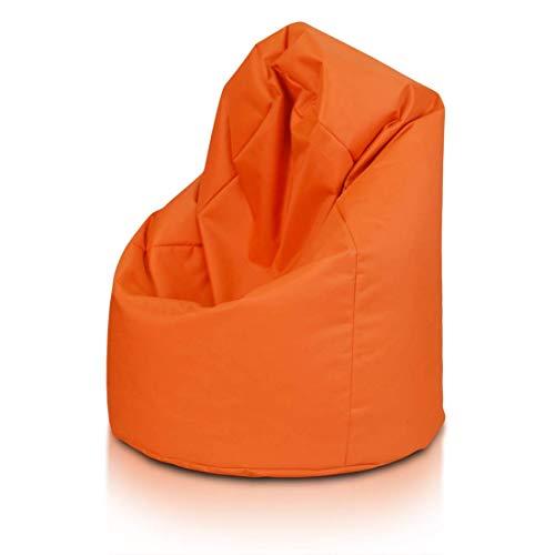 Poltrona Sacco Napoli.Poltrona Pouf Modellabile Dal Colore Arancione Grandi