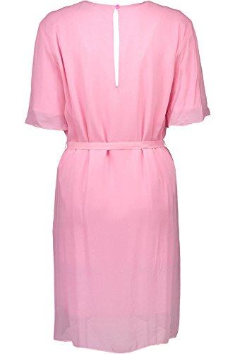 LOVE MOSCHINO W V E00 80 S 2655 Kurtzes Kleid Damen rosa N35