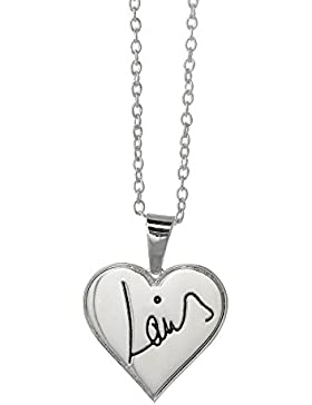 One Direction 'Louis Signature' Heart Necklace