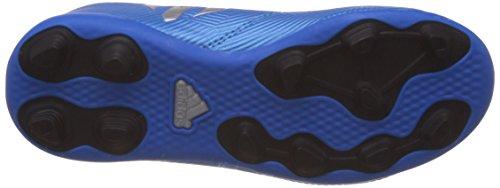 adidas Messi 16.4 Fxg J, Scarpe da Calcio Bambino, UK Azul (Azuimp / Plamat / Negbas)