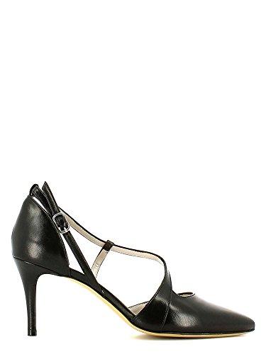 GRACE SHOES 115 Sandalo tacco Donna Nero
