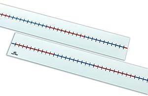 Learn Well T722 Líneas para números de Mesa en Blanco, 100 Espacios (Caja de 5)